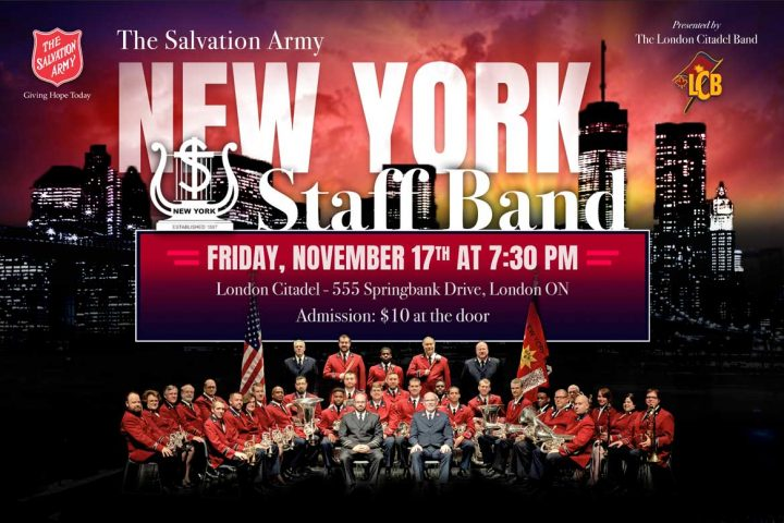 New York Staff Band Poster